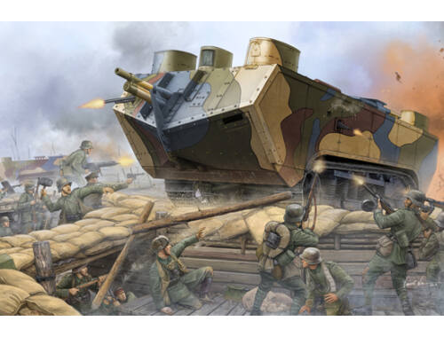 Hobby Boss French Saint-Chamond Heavy Tank-Early 1:35 (83858)