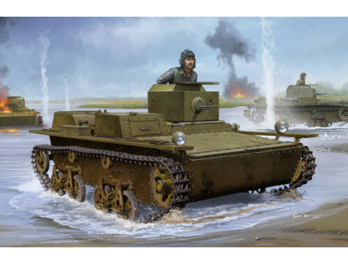 Hobby Boss Soviet T-38 Amphibious Light Tank 1:35 (83865)