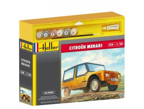Heller Starter Set Citroen Mehari (Version 1) 1:24 (50760)