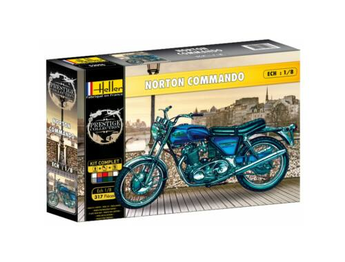Heller Model Set Norton Commando 1:8 (52996)