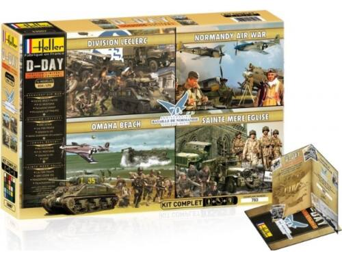 Heller Model Set D-Day Limited Edition 1:72 (53007)
