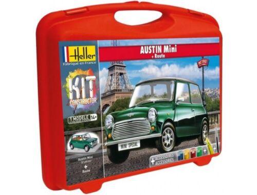 Heller Model Kit Austin Mini (piste) 1:43 (60153)