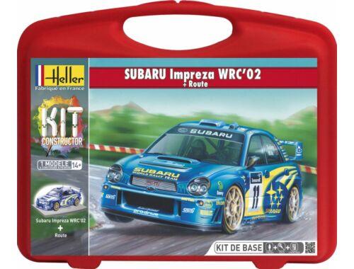Heller Subaru Impreza WRC'02-Route set 1:43 (60199)