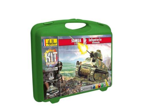 Heller Model Kit Somua Infanterie Allemande 1:72 (60975)