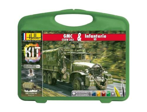 Heller Model Kit GMC Infanterie US 1:72 (60996)