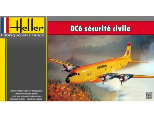 Heller DC6 Securite Civile 1:72 (80330)