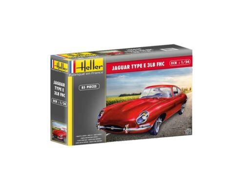 Heller Jaguar Type E 3L8 FHC 1:24 (80709)
