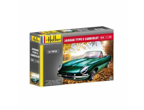 Heller Jaguar Type E 3L8 OTS Cabriolet 1:24 (80719)