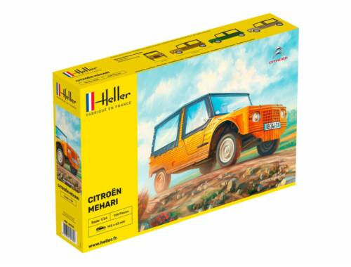 Heller Citroen Mehari (Version 1) 1:24 (80760)