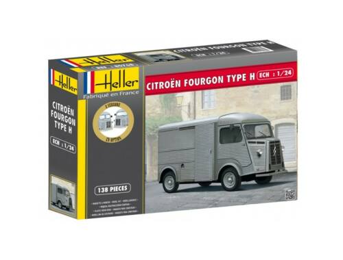 """Heller Citroen Fourgon Hy """"Tube"""" 1:24 (80768)"""