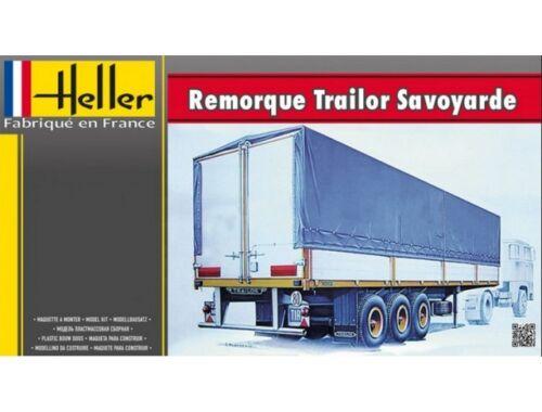 Heller Remoroque Trailor Savoyarde 1:24 (80771)