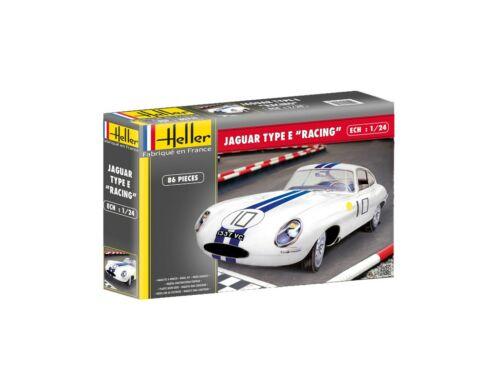 Heller Jaguar Type E Le Mans 1:24 (80783)