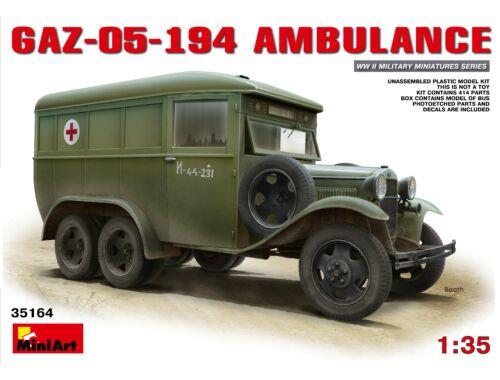 Miniart GAZ-05-194 Ambulance 1:35 (35164)