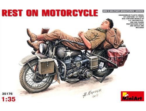 Miniart Rest on Motorcycle 1:35 (35176)