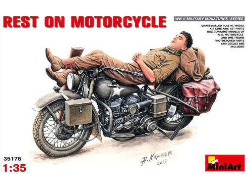 Miniart Rest on Motorcycle 1:35 (35176)