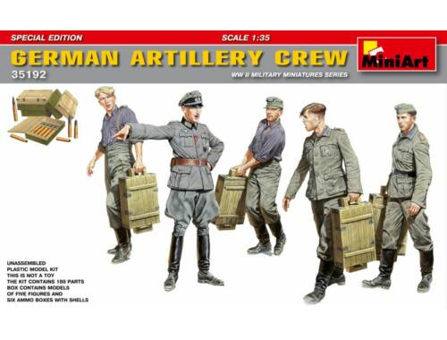 Miniart German Artillery Crew. Special Edition 1:35 (35192)
