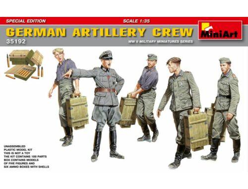 Miniart German Artillery Crew. Special Edition 1:35 (35192)