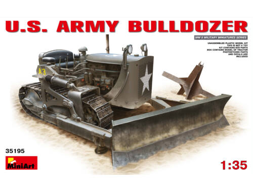 Miniart U.S. Army Bulldozer 1:35 (35195)