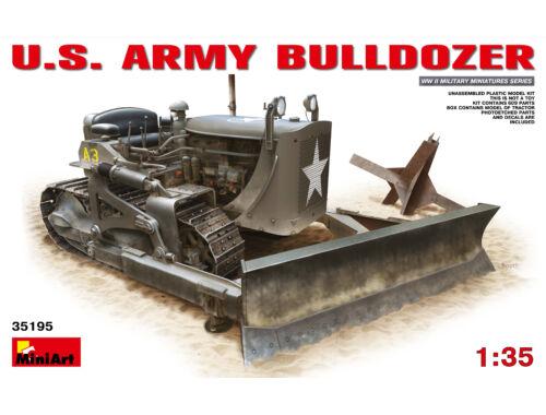 Miniart U.S. Army Bulldozer 1:35 (35195)