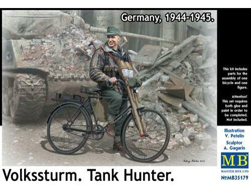 Master Box Volkssturm.Tank Hunter, 1944-1945 1:35 (35179)