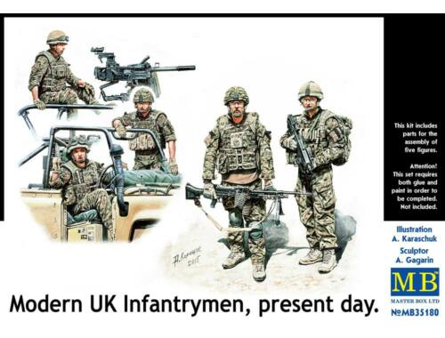 Master Box Modern UK infantrymen, present day 1:35 (35180)