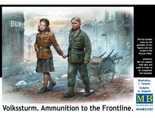 Master Box Volkssturm. Ammunition to the Frontline 1:35 (35182)