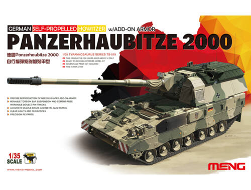 Meng German Panzerhaubitze 2000 Self-Propelle 1:35 (TS-019)