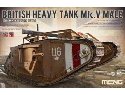 Meng British Heavy Tank Mk. V Male 1:35 (TS-020)