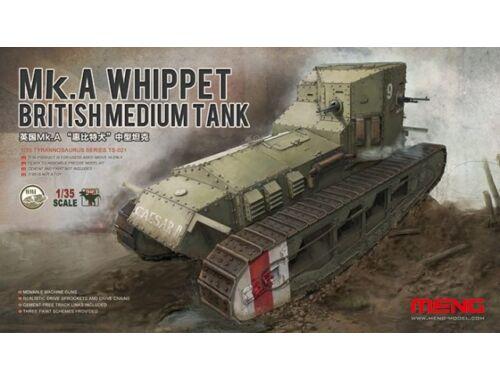 Meng British Medium Tank Mk.A Whippet 1:35 (TS-021)