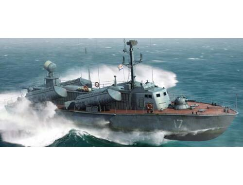 Merit Russian Navy OSA Class Missile Boat,OSA2 1:72 (67202)