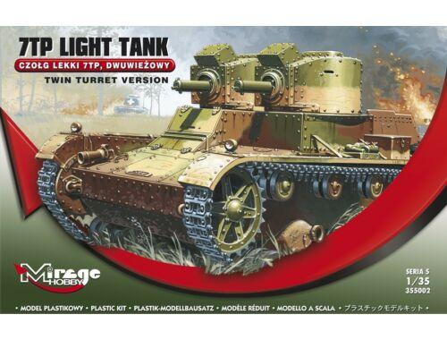 Mirage Hobby 7TP Light Tank Twin Turret Version 1:35 (355002)