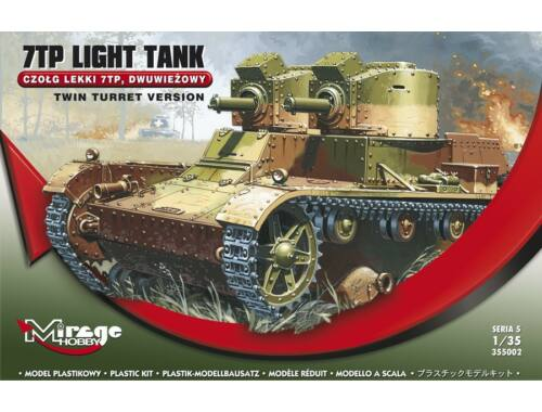 Mirage Hobby 7TP Light Tank Twin Turret Version 1:35 (355002)