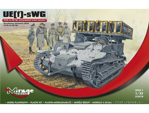 Mirage Hobby UE(f)-sWG self propelled rocket launcher 1:35 (355018)