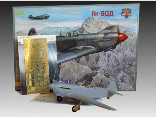 Modelsvit Yakovlev Yak-9DD Soviet fighter 1:48 (4804)