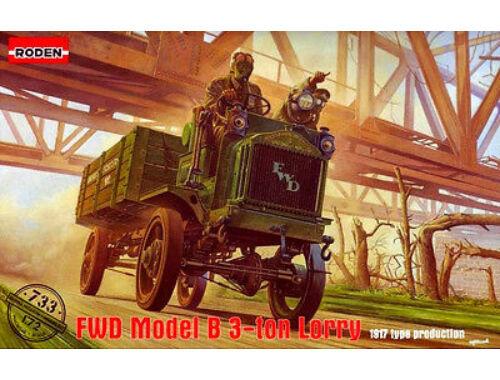 Roden FWD Model B 3 ton Lorry 1:72 (733)