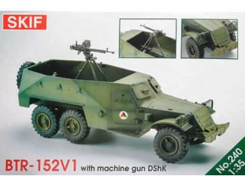 Skif BTR-152 with DShK machine-gun 1:35 (240)