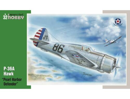 Special Hobby P-36 Pearl Harbor Defender Pearl Harbour Defender 1:32 (32003)