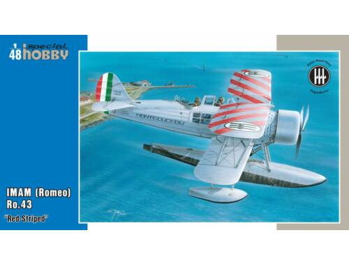 Special Hobby IMAM (Romeo)Ro.43 Red Striped 1:48 (48137)