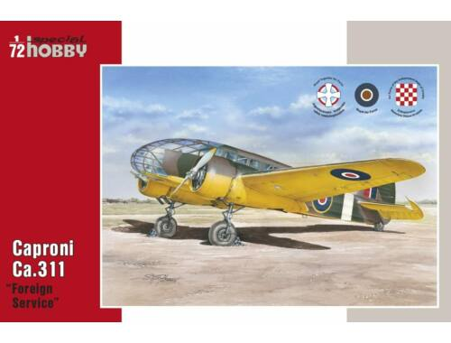 Special Hobby Caproni Ca.311 Foreign Service 1:72 (72313)