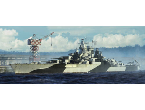 Trumpeter USS Tennessee BB-43 1944 1:700 (5782)