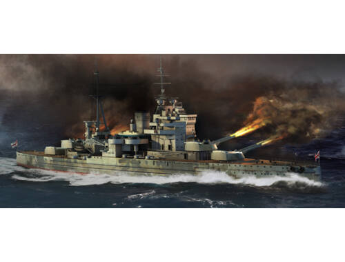 Trumpeter HMS Queen Elizabeth 1941 1:700 (5794)