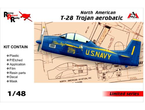 AMG North American T-28 Trojan aerobatic 1:48 (AMG48504)