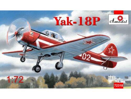 Amodel Yakovlev Yak-18P aerobatic aircraft 1:72 (72318)