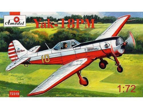 Amodel Yakovlev Yak-18PM aerobatic aircraft 1:72 (72319)