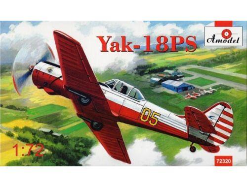 Amodel Yakovlev Yak-18PS aerobatic aircraft 1:72 (72320)
