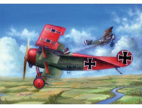 Merit Fokker Dr.I (kits) 1:24 (62403)