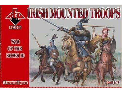 Red Box Irish mounted troops,War of the Roses 10 1:72 (72055)