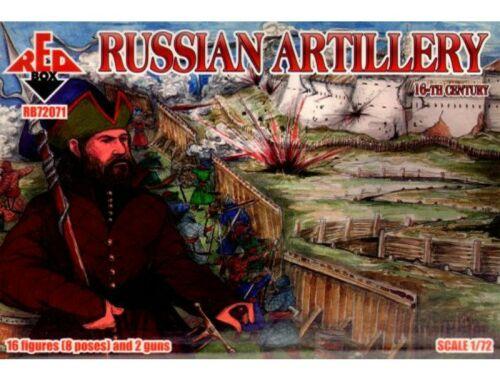 Red Box Russian Artillery, 16th century 1:72 (72071)