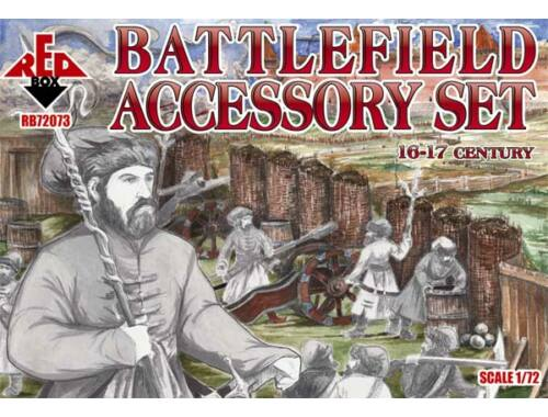 Red Box Battlefield accessory set,16th-17th cent 1:72 (72073)