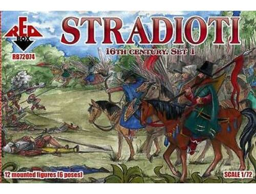 Red Box Stradioti, 16th century. Set 1 1:72 (72074)